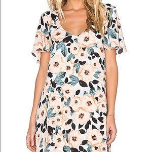 show me your mumu Kylie dress in steel magnolia